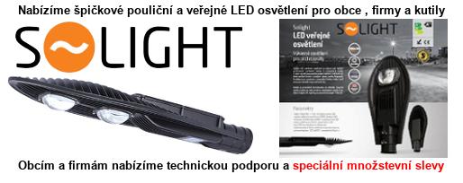 Pouliční LED osvětlení Solight