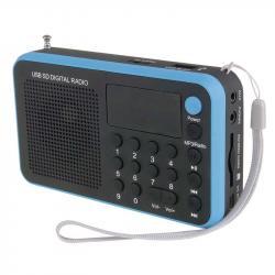 USB rádio EMGO 1505W Blue (modrá)