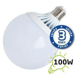 LED žárovka Tipa G120 E27 18W bílá přírodní (Al)