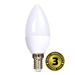 LED žárovka Solight, svíčka, 6W, E14, 4000K, 450lm
