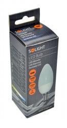 LED žárovka Solight, svíčka, 6W, E14, 3000K, 450lm
