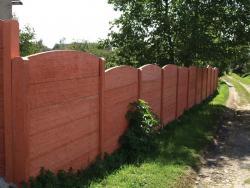 Betonové ploty (více výrobců)