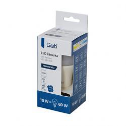 LED žárovka Geti A60, E27, 10W, bílá neutrální (přírodní)