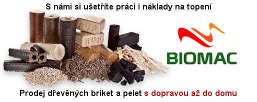 Prodej ekopaliv Biomac
